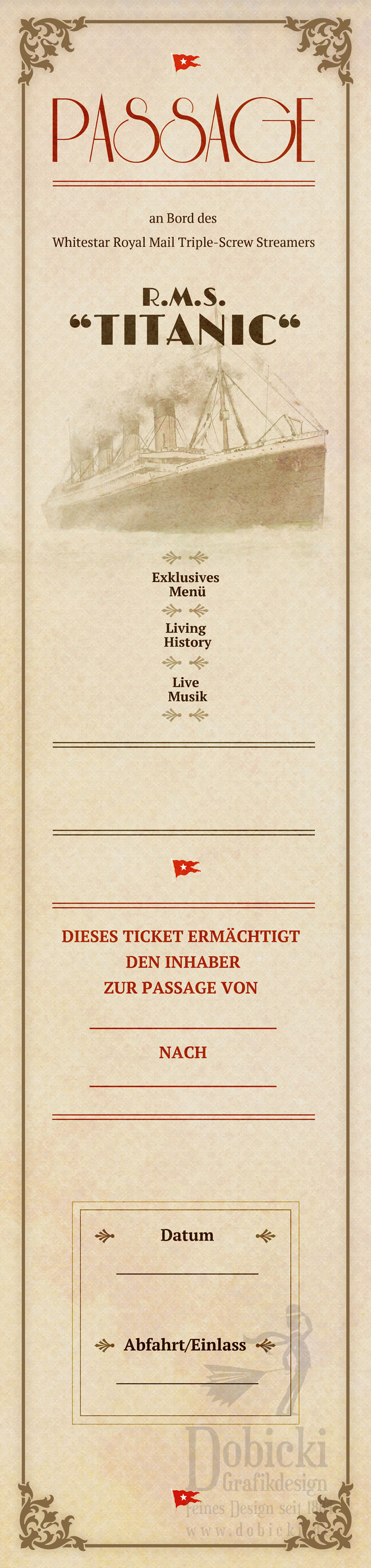 Titanic Ticket final DRUCKFINAL back