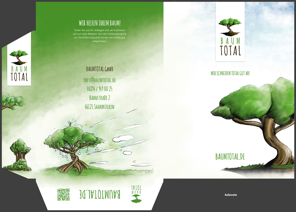 Mappe Baumtotal Front 4
