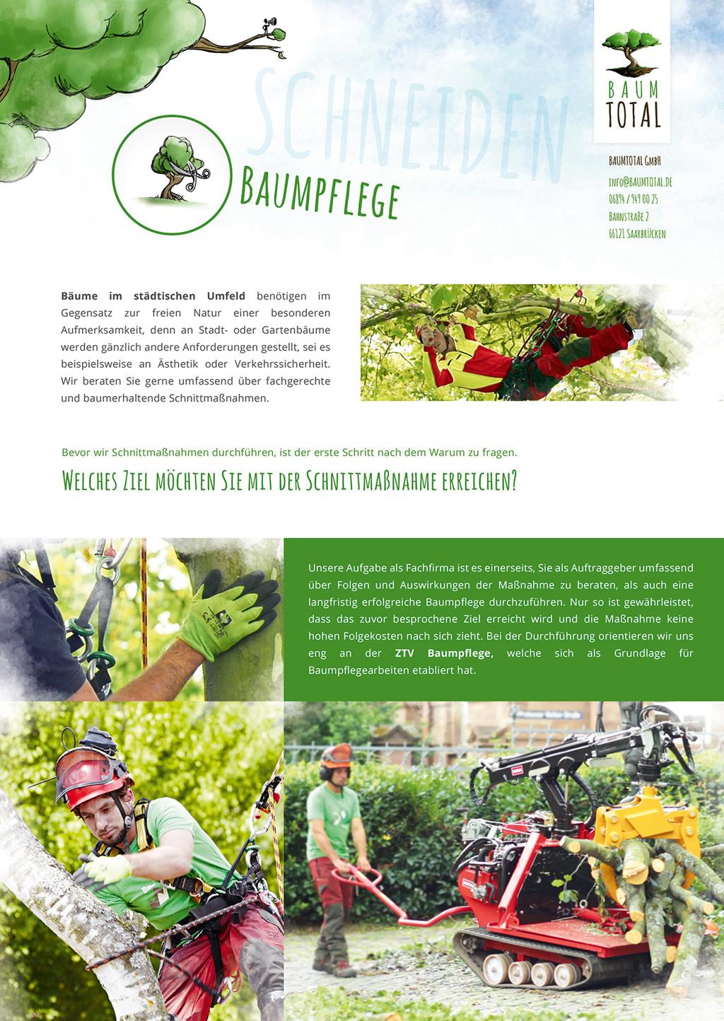 Mappeneinleger Baumtotal Baumpflege Schneiden DRUCKFINAL FRONT